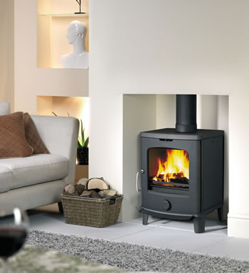 Scan-home-closed combustion range